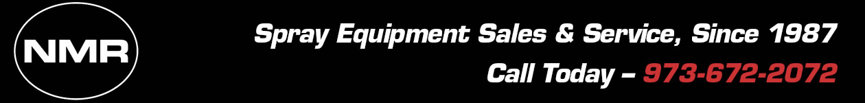 NMR Spray Equipment Sales & Service in Orange, NJ, Since 1987